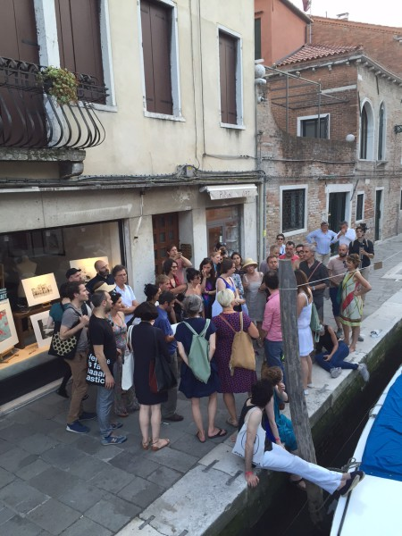 """6. Juni 2015. Salon Suisse der Pro Helvetia """"S.O.S. Dada"""" in Venedig. Wo sind wir? Wer bin ich?"""