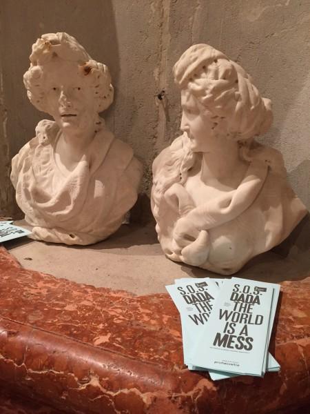 """6. Juni 2015. Salon Suisse der Pro Helvetia """"S.O.S. Dada"""" in Venedig. Schaum oder Stein? Glück oder Schmerz?"""