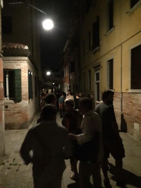 """6. Juni 2015. Salon Suisse der Pro Helvetia """"S.O.S. Dada"""" in Venedig. Dérive dérivandi."""