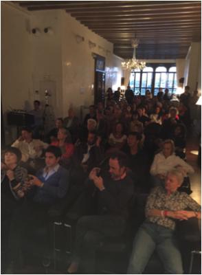 """Salon Suisse, 10.9.2015:  Das dritte Week-End des Salon Suisse """"S.O.S. DADA - The World Is a Mess"""" vom 10. bis 12. September beginnt. Noch ist die Welt aufgeräumt."""